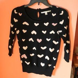 Heart Pattern Sweater